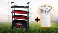 "Crazy Deal 03 DFB jersey ""S"" + BUTLER assembly trolley"